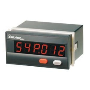 Kübler Codix 54P, multifunctional counter, LED display, speedometer