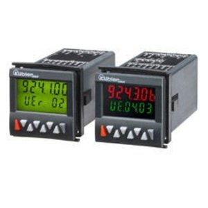 Kübler Codix 924, multifunction preset (1 .. 6) counter, LCD multicolor display, frequency, speed, time and quantity