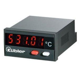 Kübler Codix 531 Pt100 temperatuur display