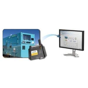 HMS EC220 remote monitoring via fixed or mobile internet