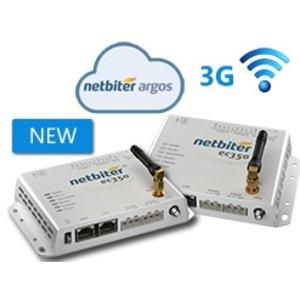 eWON EC350, remote monitoring via fixed or mobile internet