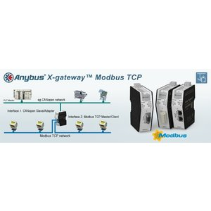Anybus X-Gateway ModbusTCP