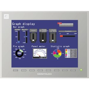 Hakko V9120iSD intelligent touch screen HMI for PLC and frequency controllers