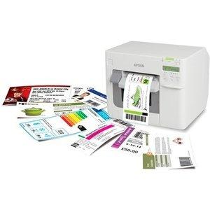 Epson The TM-C3500 - Color Label Label Printer - USB, Ethernet, cutter + Display