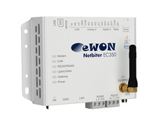 HMS Netbiter EC350, remote monitoring en/of access, GPS/GSM/GPRS/3G