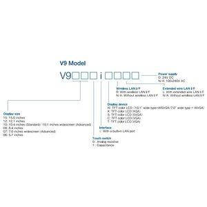 Hakko Hakko V9100 Advanced intelligente touchscreen HMI voor PLC en frequentie regelaars - Copy