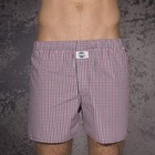 D.E.A.L. boxers rood/blauw/wit ruitdessin