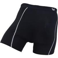 Cavello Underwear Two-pack boxershorts effen zwart en zwart/wit spiraal
