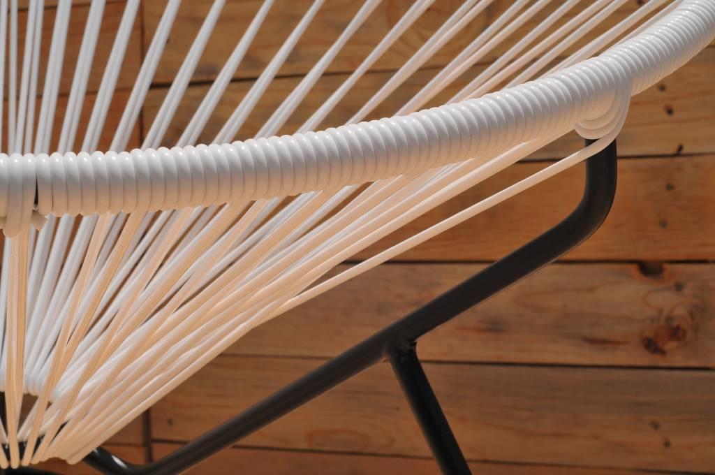 Condesa stoel wit handgemaakt in mexico originele acapulco stoelen