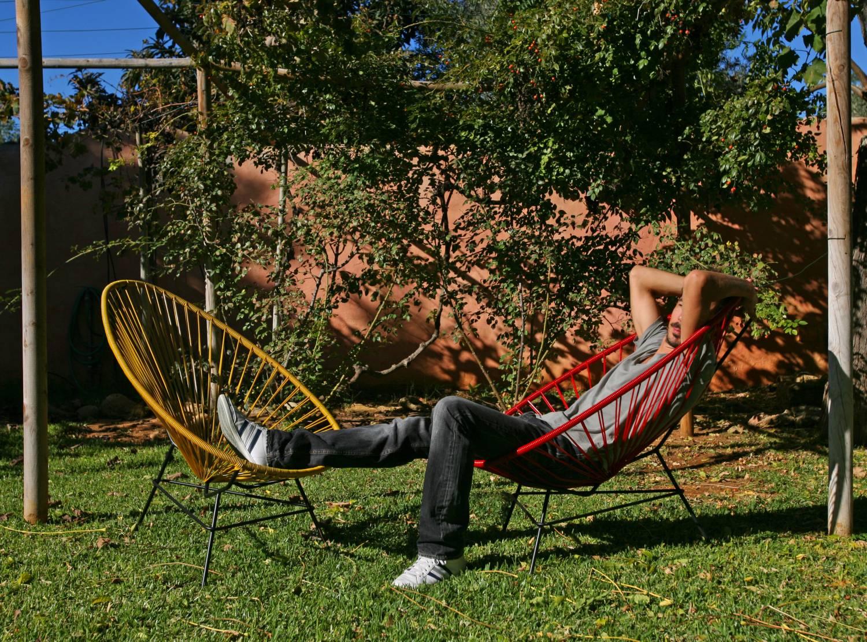 the original acapulco chair checked by fair furniture the original acapulco chair. Black Bedroom Furniture Sets. Home Design Ideas