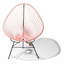 Acapulco chair salmon pink