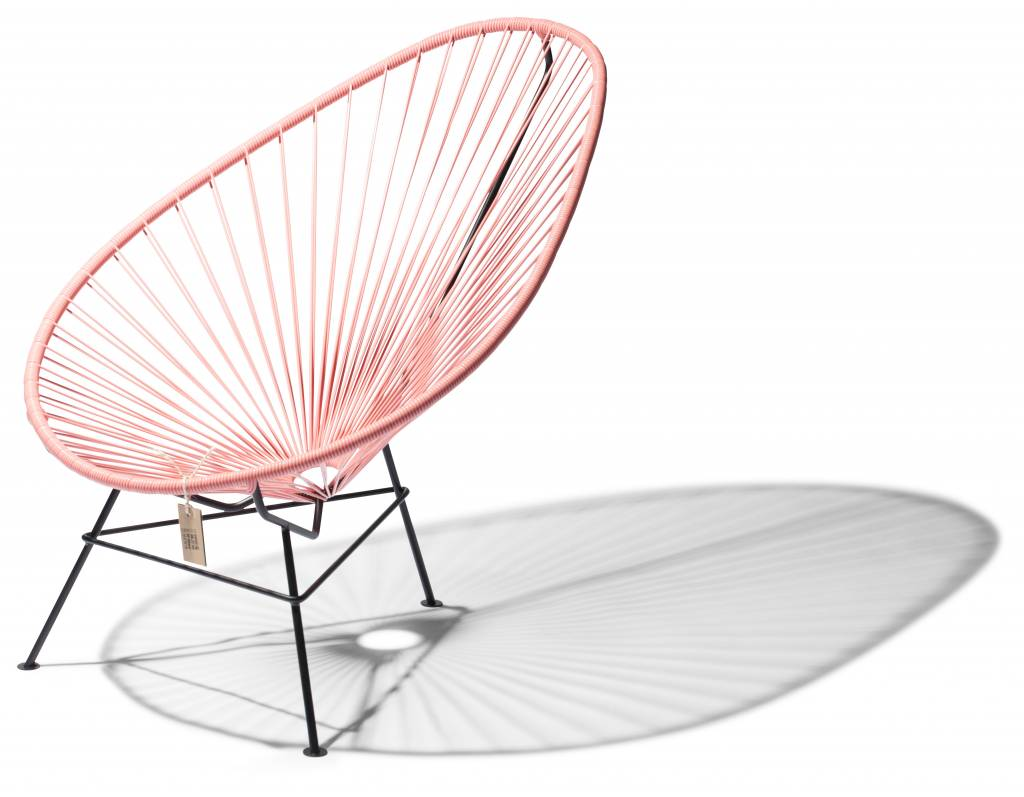 pink acapulco chair high quality no imitation the original acapulco chair. Black Bedroom Furniture Sets. Home Design Ideas