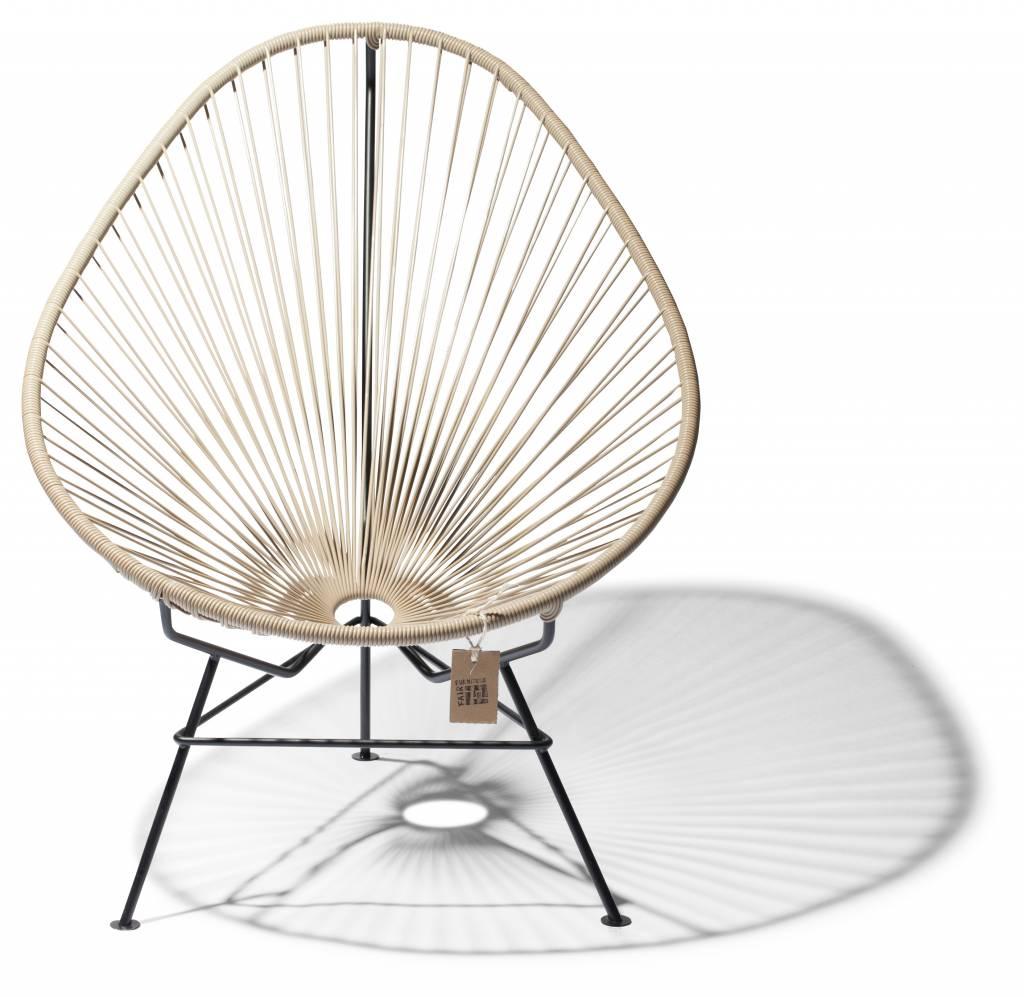 fauteuil acapulco en couleur beige le fauteuil acapulco authentique. Black Bedroom Furniture Sets. Home Design Ideas