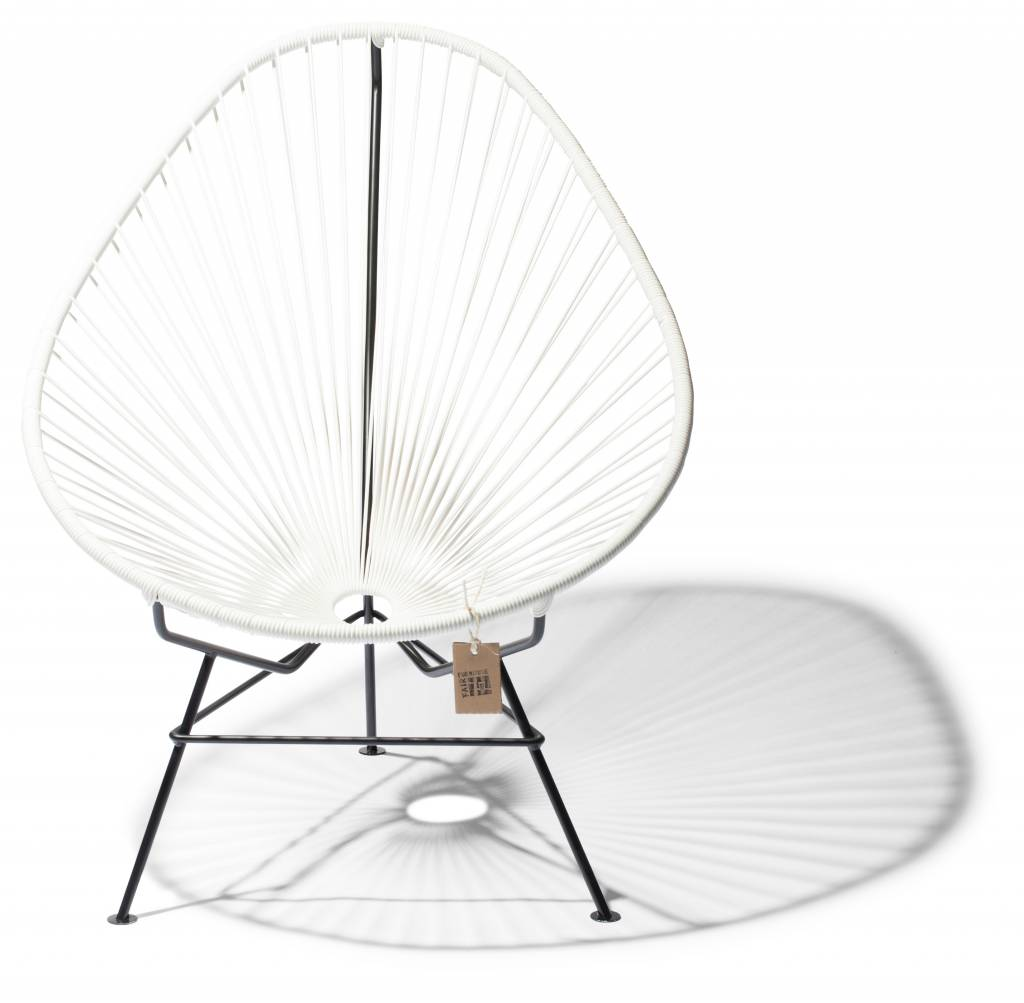 klassischen wei en acapulco chair acapulco st hle. Black Bedroom Furniture Sets. Home Design Ideas