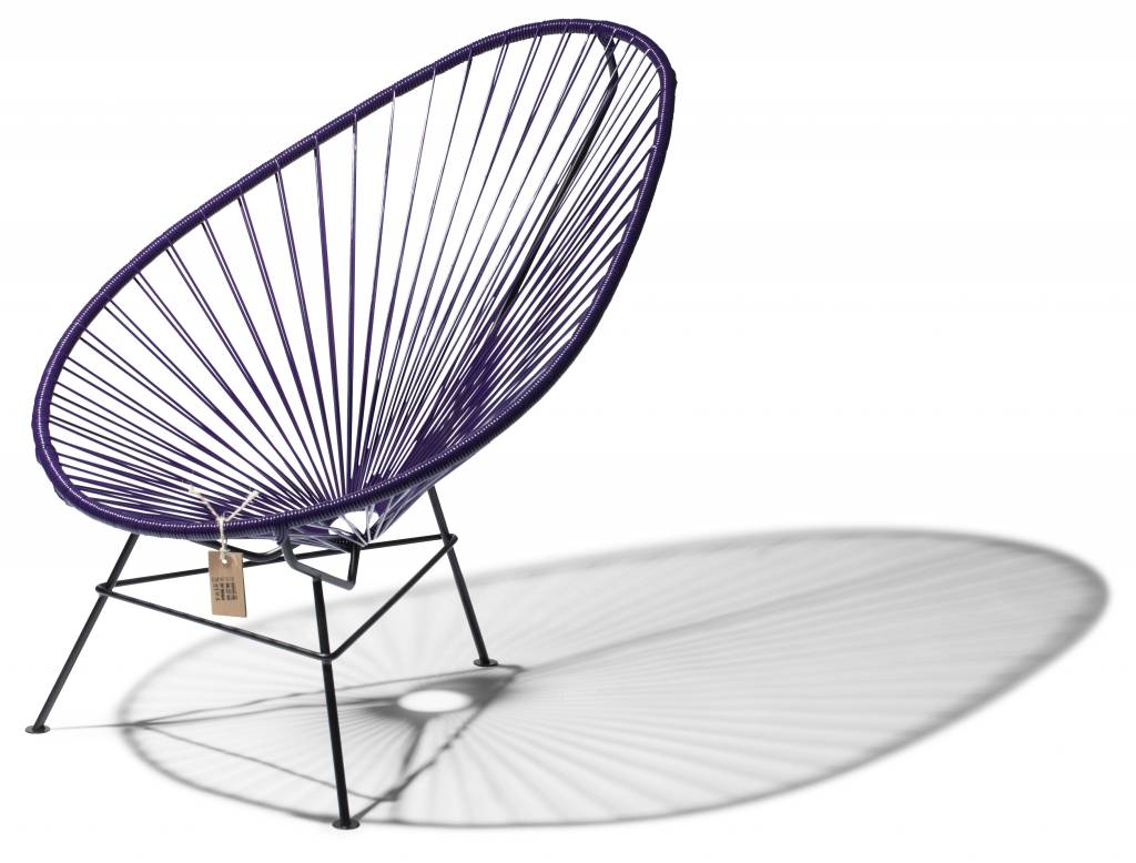 cool purple acapulco chair the original acapulco chair. Black Bedroom Furniture Sets. Home Design Ideas