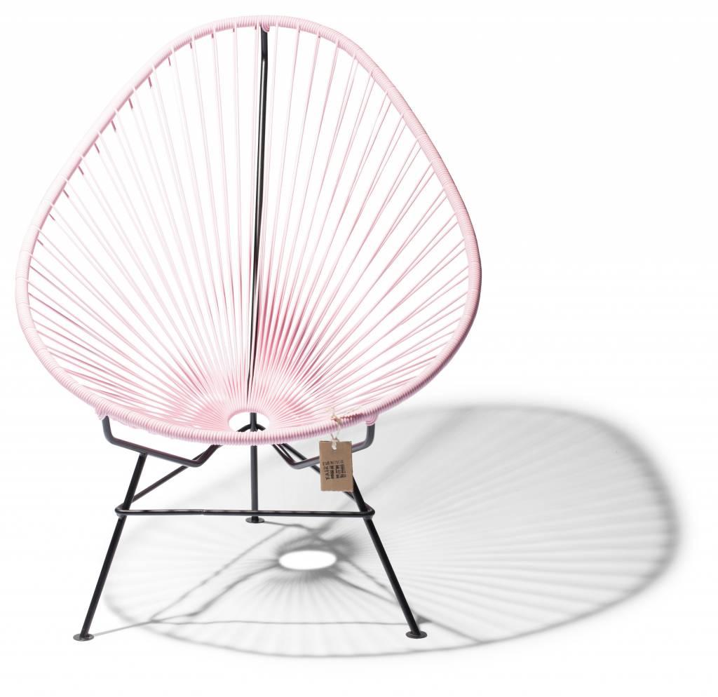 fauteuil acapulco rose pastel fabriqu la main au mexique le fauteuil acapulco authentique. Black Bedroom Furniture Sets. Home Design Ideas