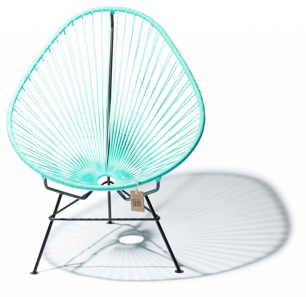 now for sale the original acapulco chair in turquoise colour the original acapulco chair. Black Bedroom Furniture Sets. Home Design Ideas