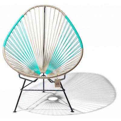 acapulco stuhl beige t rkis zweifarbig acapulco st hle. Black Bedroom Furniture Sets. Home Design Ideas