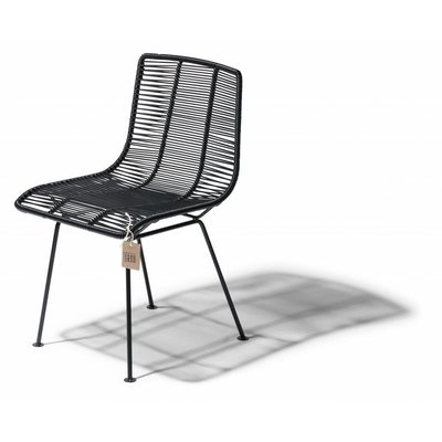 Rosarito dining chair black
