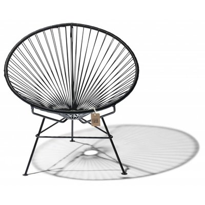 Condesa chair black, handmade, black frame
