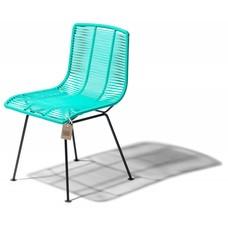 Chaise Rosarito aqua turquoise