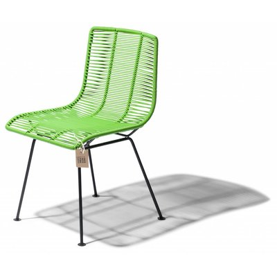 Rosarito dining chair olive green