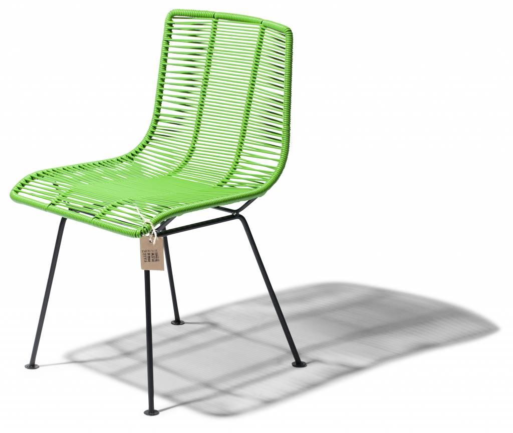 Chaise de salle manger vert olive le fauteuil for Salle a manger vert