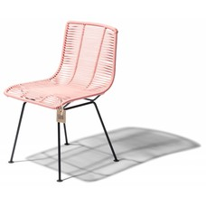 Rosarito chair pink salmon