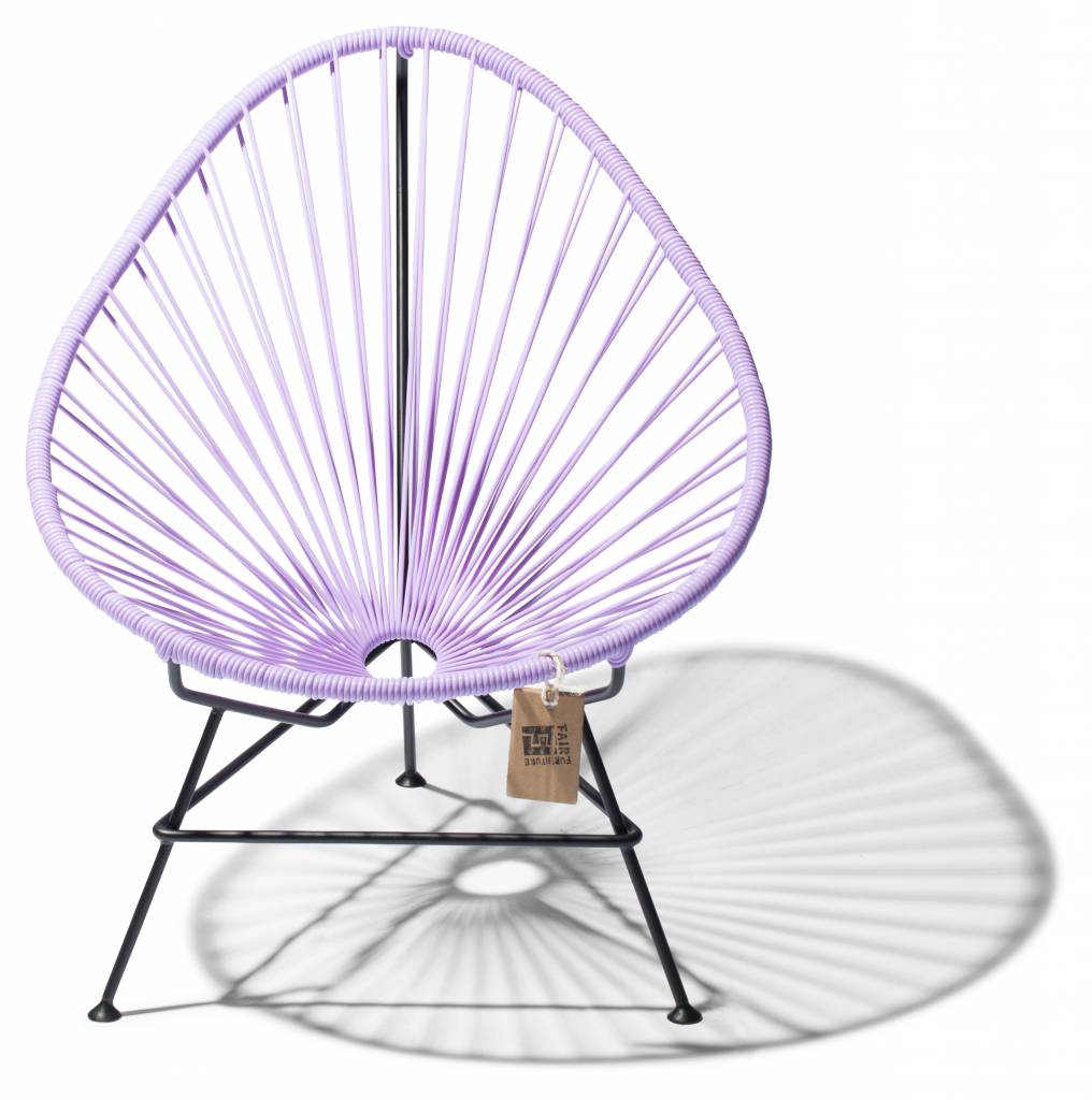 chaise acapulco b b lilas lavande le fauteuil acapulco authentique. Black Bedroom Furniture Sets. Home Design Ideas