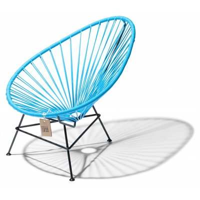 Acapulco kinder/baby stoel sky blue