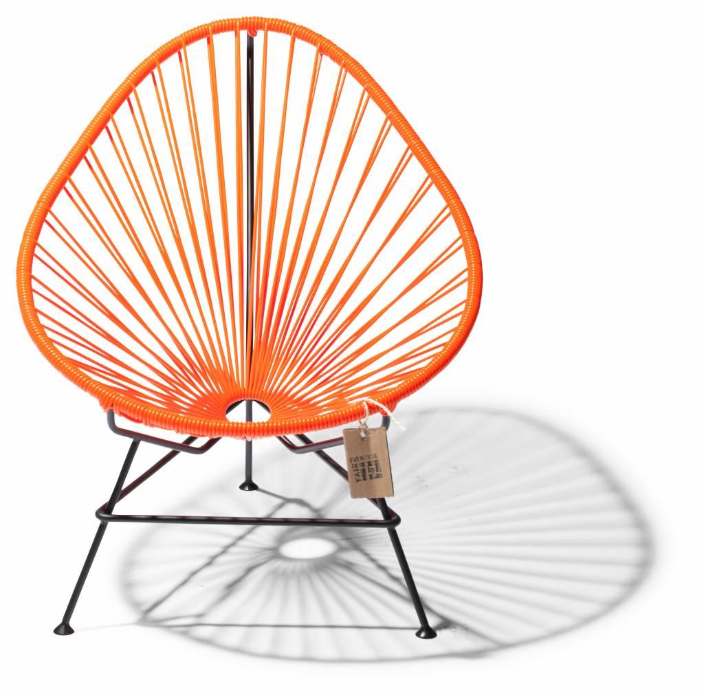 fauteuil acapulco enfant b b orange le fauteuil acapulco authentique. Black Bedroom Furniture Sets. Home Design Ideas