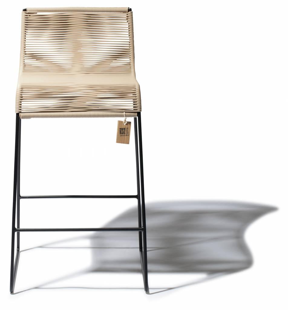 tabouret de bar zicatela beige le fauteuil acapulco authentique. Black Bedroom Furniture Sets. Home Design Ideas