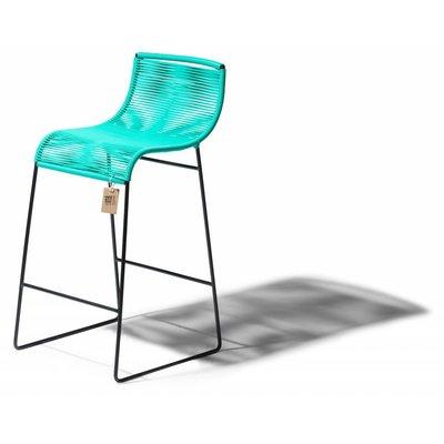 Barstool Zicatela turquoise