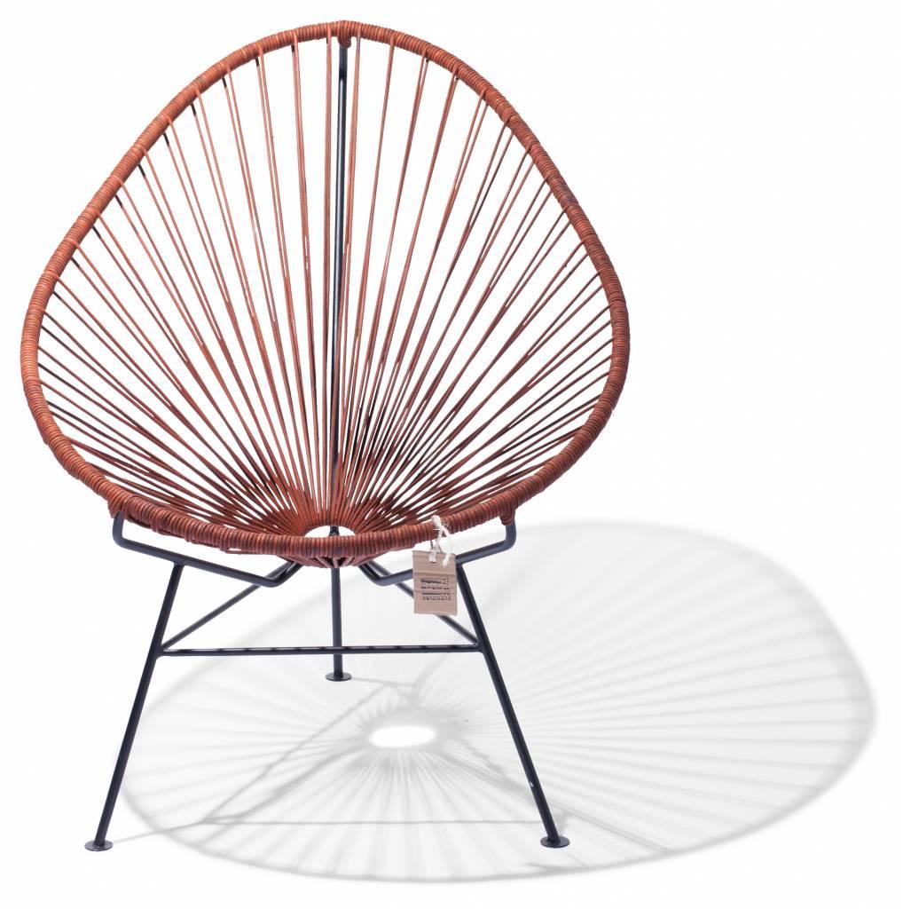 Sedia acapulco in pelle sedie originali acapulco for Sedia acapulco