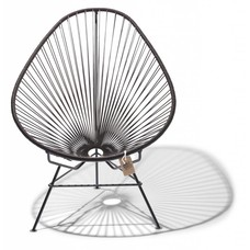 Acapulco chair chocolate brown