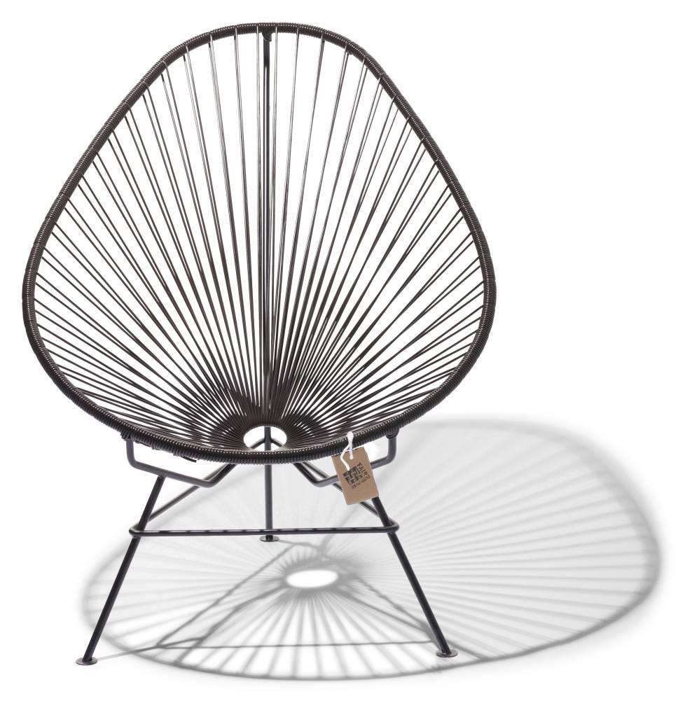 la chaise acapulco original de fair furniture en couleur chocolat le fauteuil acapulco. Black Bedroom Furniture Sets. Home Design Ideas