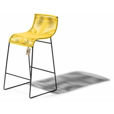 tabouret de bar lilix jaune le fauteuil acapulco authentique. Black Bedroom Furniture Sets. Home Design Ideas