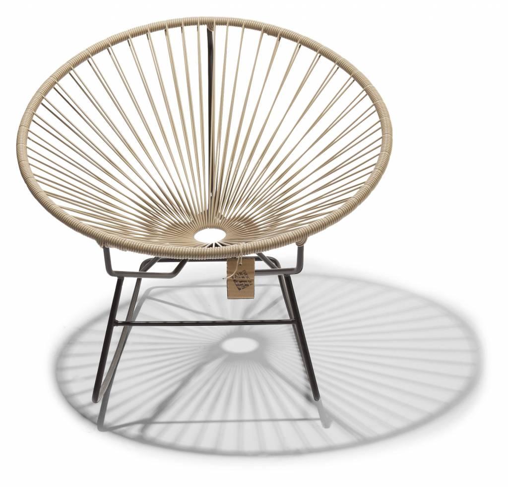 fauteuil bascule condesa bbeige le fauteuil acapulco authentique. Black Bedroom Furniture Sets. Home Design Ideas