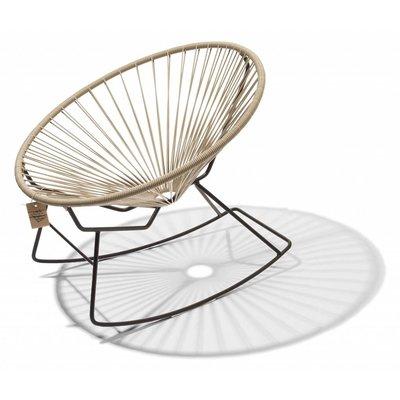 Condesa rocking chair beige