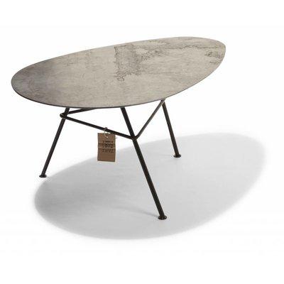 Tisch Zahora Cortenstahl