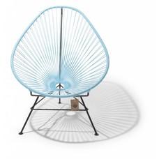 Acapulco stoel pastelblauw