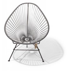 Acapulco chair silver-grey