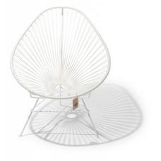 Acapulco Stuhl weiß, weißen Rahmen