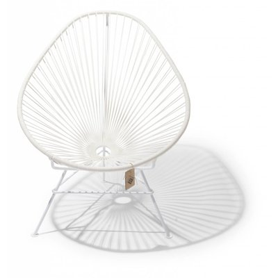 Acapulco chair white, white frame