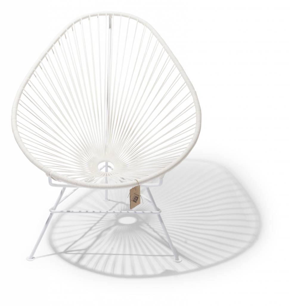 Acapulco chair dimensions - Acapulco Chair White White Frame
