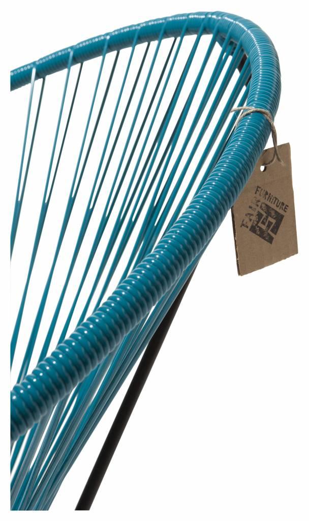 fauteuil condesa bleu p trole le fauteuil acapulco authentique. Black Bedroom Furniture Sets. Home Design Ideas