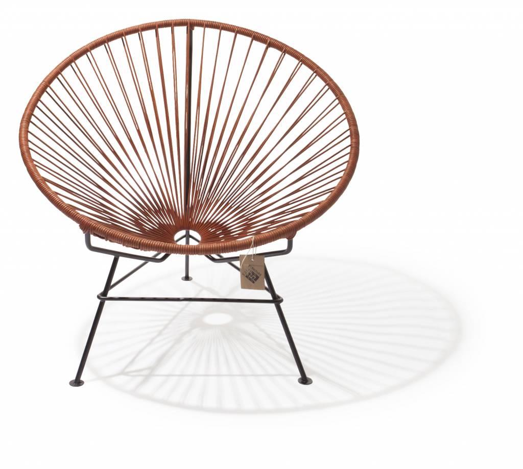 Unieke leren condesa stoel originele acapulco stoelen