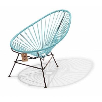Acapulco kinder/baby stoel pastel blauw
