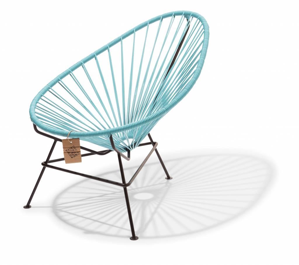 fauteuil acapulco bleu pastel pour enfants le fauteuil acapulco authentique. Black Bedroom Furniture Sets. Home Design Ideas