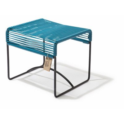 Xalapa bench or footrest petroleum blue